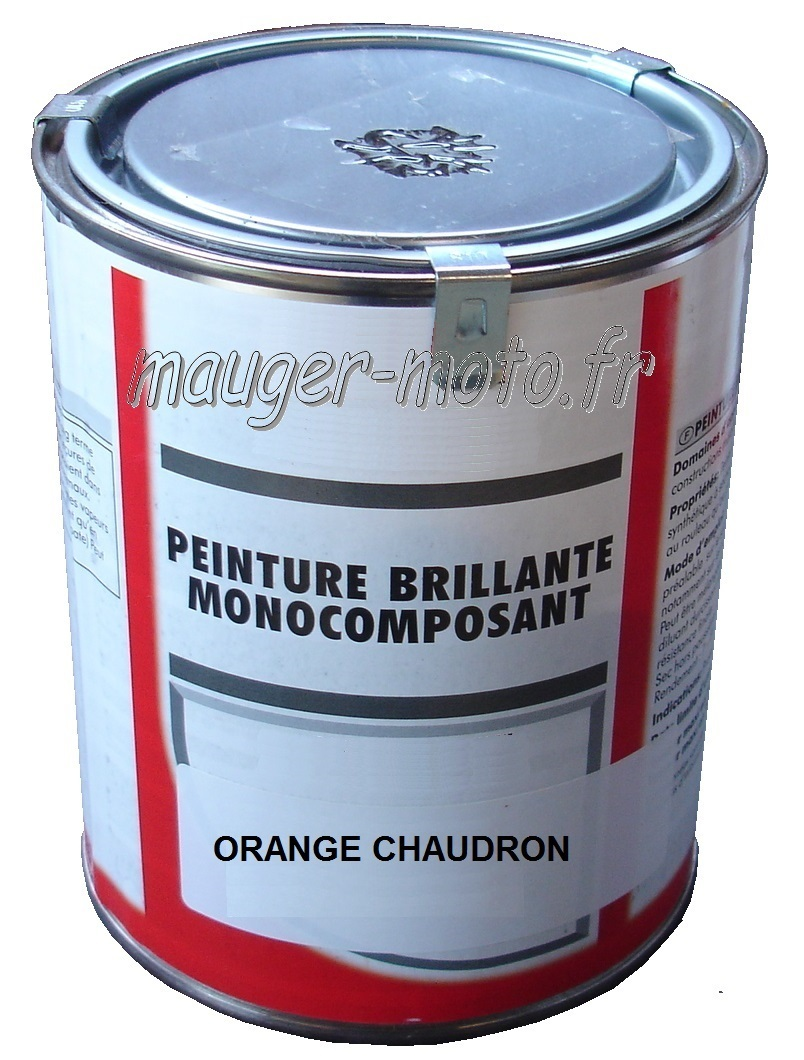 pot 1 kg peinture orange chaudron motobecane ets mauger. Black Bedroom Furniture Sets. Home Design Ideas