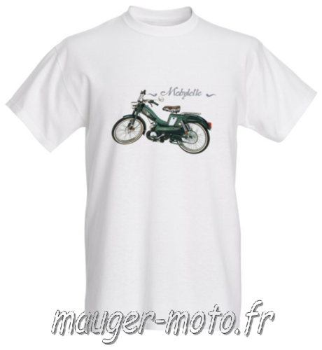 T-shirt thème MOBYLETTE taille S