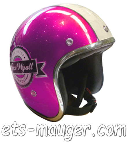 Casque TORX WYATT FAMOUS rose taille S 55