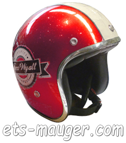 Casque TORX WYATT FAMOUS rouge taille M 57