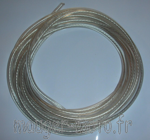 Fil de bougie transparent diamètre 7 mm (le métre)