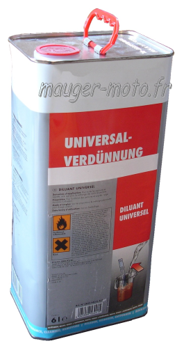 Diluant universel 6 litres