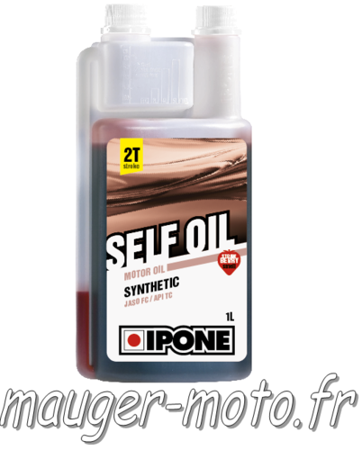 IPONE Huile 2 temps 1L SELF OIL