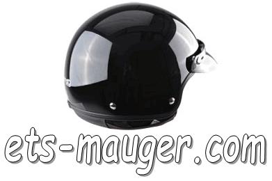 Casque Demi Jet Trendy Noir Taille Xl 61 62 Ets Mauger